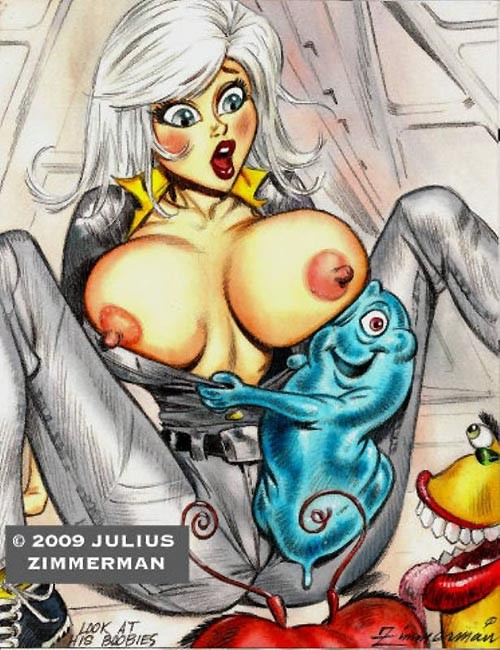 Monsters vs Aliens Cartoon Sex
