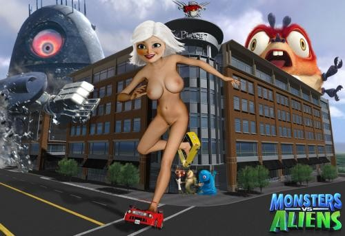 Naked Photos Of Susan From Monsters Vs Aliens